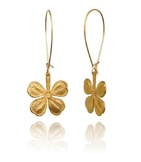 Bohemia Pair of Clover Earrings