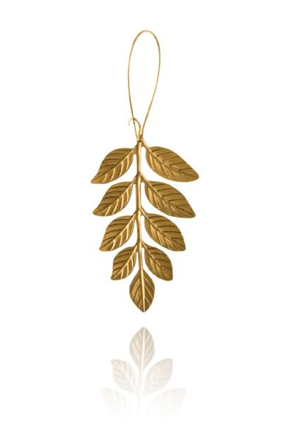 Bohemia Fern Medium Earring