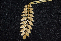 Bohemia Big Fern Necklace