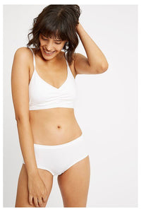 People Tree Soft Bra top Eco White