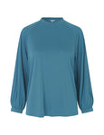 Mbym Kilja Kelsey Top in Blue Wing Teal