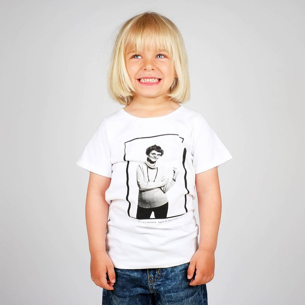 Dedicated Baby T-shirt Astrid Lindgren Vit