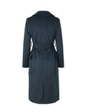 Mbym Toby Long Coat in Night sky Melange - KAMPANJ 20%