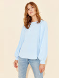 Mbym Retta Top in Blue or Yellow