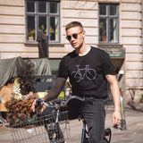 Dedicated Stockholm Text Bike Black T-Shirt