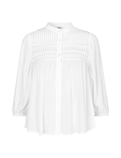 MbyM Sena Jeffie Shirt / Blouse in White