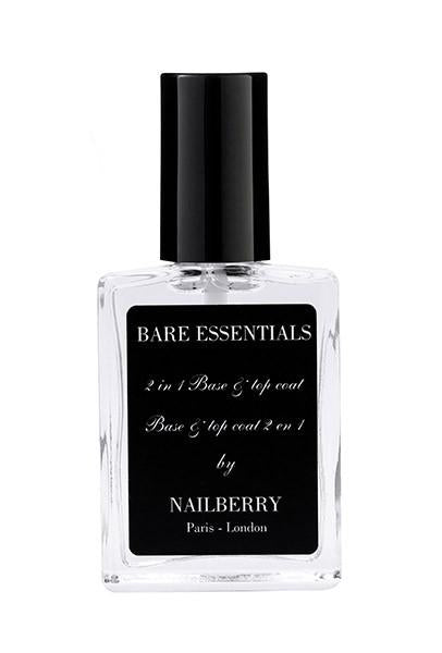 Nailberry L'oxygéné Nail Lacquer Bare Essensials 2-in-1 coat
