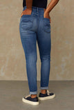 Kings of Indigo - Christina High waisted skinny jeans, Myla Worn in