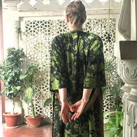 Betty long kimono/indian robe - BETTY & UMA UPCYCLED COLLECTION