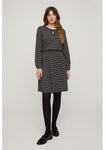 People Tree Calandra Dress in Black - 50% rabatt
