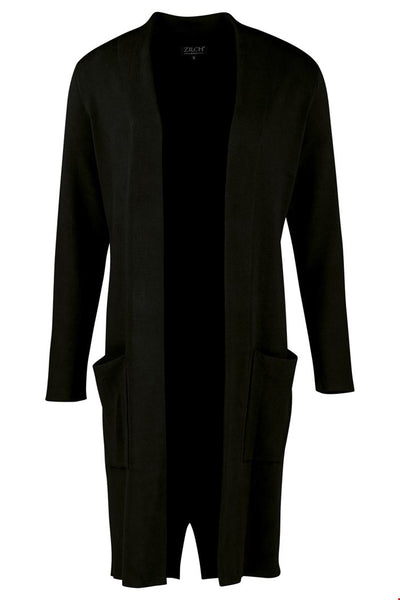 Zilch Cardigan Long in Black
