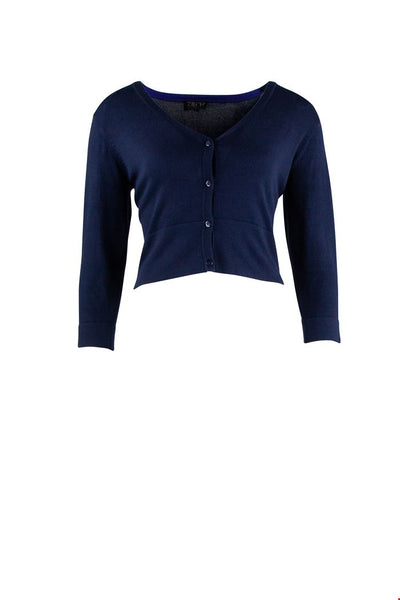 Zilch Cardigan Short Navy