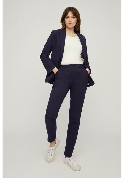 People Tree Cynthia Trousers Navy