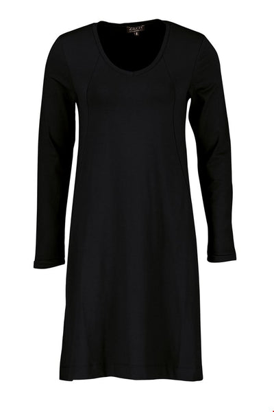 Zilch Dress Pockets in Black