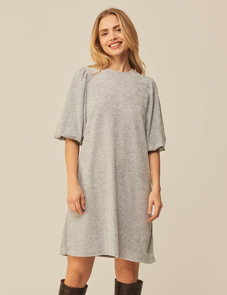MbyM Emmaline Jess Dress in Grey Melange