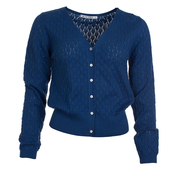Froy & Dind Gerdy Night Blue Cardigan