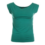 Froy & Dind Top Ada Alpine Green Tencel