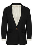 People Tree Mirren Blazer Black