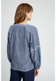 People Tree Serena Embroided Blouse -20% REA
