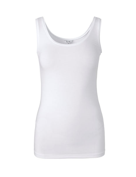 Mbym Sina Top in Optical White