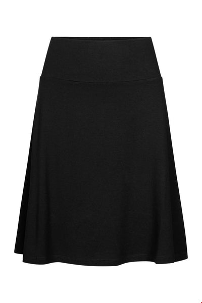 Zilch A-Line Skirt in Black