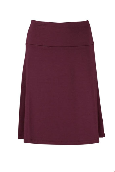 Zilch Skirt in Port
