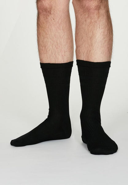 Thought Benedict Seacell™ Diabetic Socks in Black