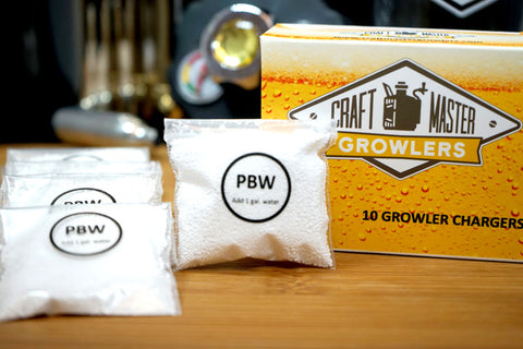 Powdered Brewery Wash Packets