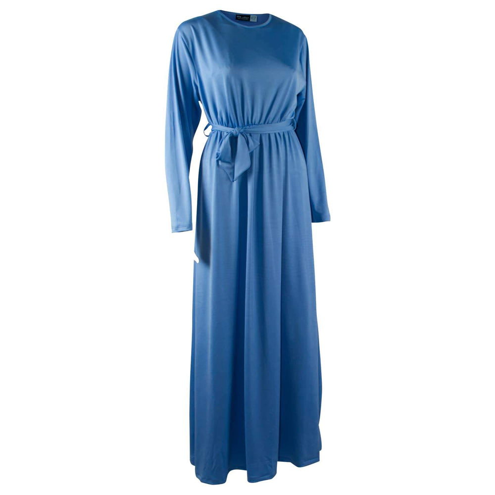 Pure Blue x Plain Abaya
