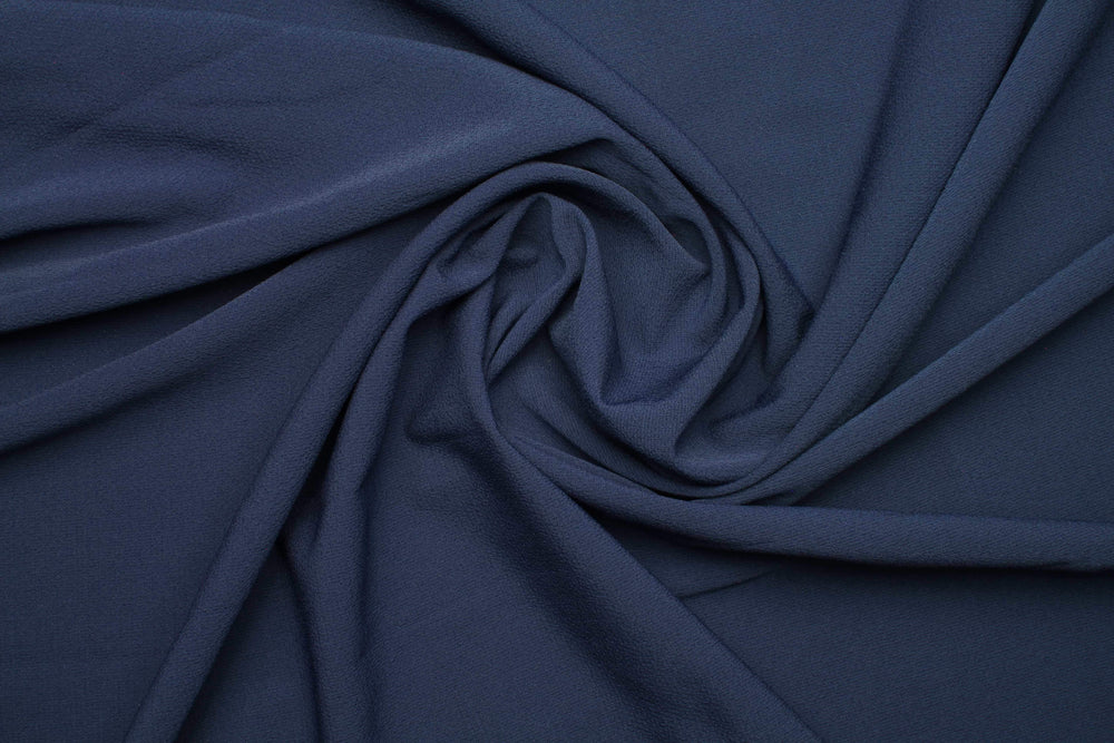 Dark Blue x Rich Chiffon | Modestique