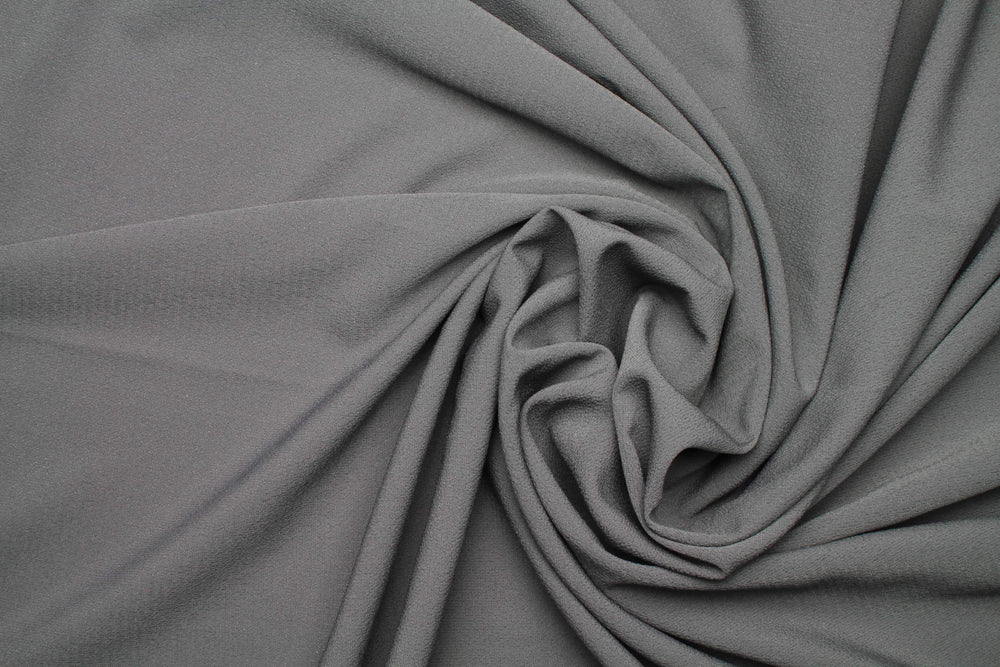 Dusty Grey x Rich Chiffon | Modestique