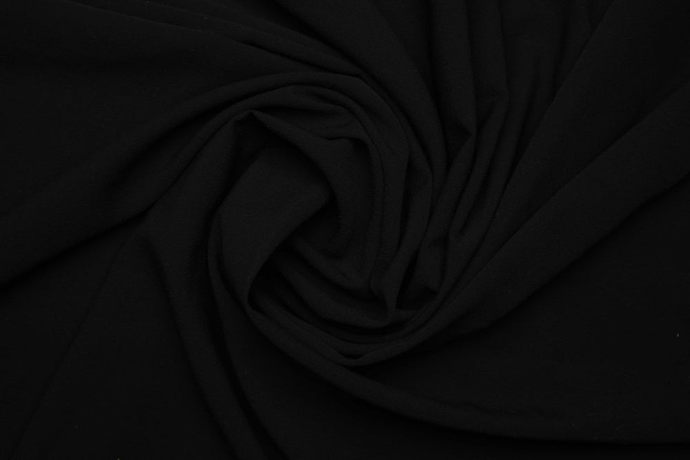 Pitch Black x Rich Chiffon | Modestique