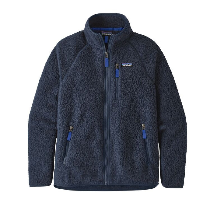 Patagonia Men's Retro Pile Fleece Jacket - New Navy
