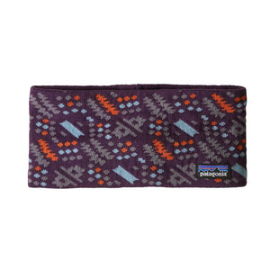 Patagonia Lined Knit Headband - Deep Plum
