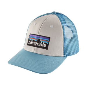 Patagonia LoPro Trucker Hat - White w/ Break up Blue