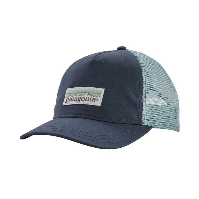 Patagonia Women's Pastel P-6 Label Layback Trucker Hat - Dolomite Blue