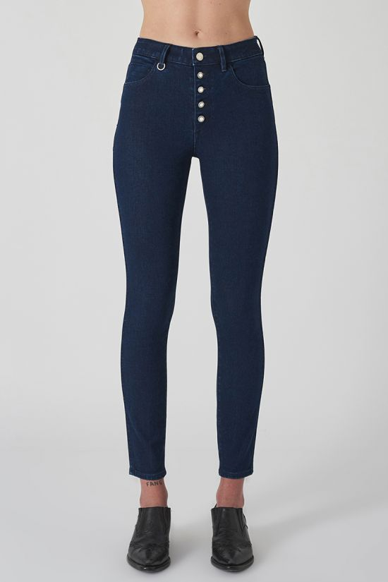 NEUW Smith High Rise Skinny -  Zero Halston