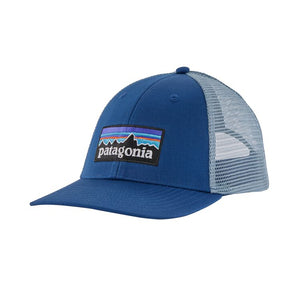 Patagonia P-6 LOGO LoPro Trucker Hat - Superior Blue