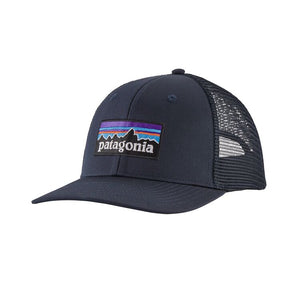 Patagonia P-6 LOGO Trucker Hat (mid crown) - Navy Blue