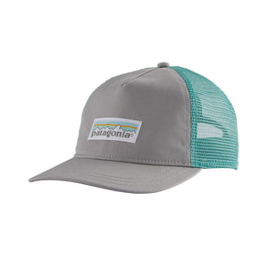 Patagonia Women's Pastel P-6 Label Layback Trucker Hat - Drifter Grey