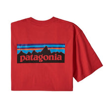 Load image into Gallery viewer, Patagonia Men's P-6 Logo Responsibili-Tee - Fire