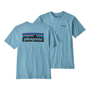 Patagonia Men's P-6 Logo Responsibili-Tee - Break Up Blue