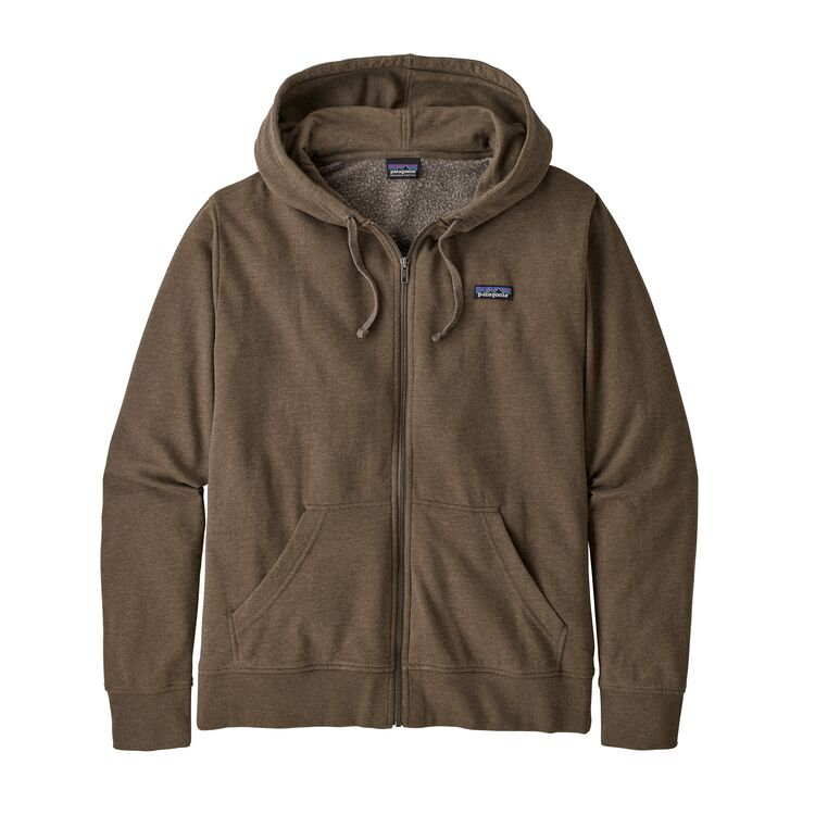 Patagonia Men's Label LW Full-Zip Hoody - Bristle Brown