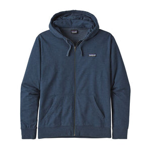 Patagonia Men's Label LW Full-Zip Hoody - Stone Blue