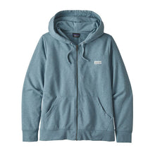Load image into Gallery viewer, Patagonia Women's Pastel P-6 Label Ahnya Full-Zip Hoody - Berlin Blue