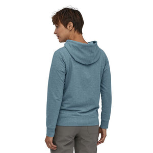 Patagonia Women's Pastel P-6 Label Ahnya Full-Zip Hoody - Berlin Blue