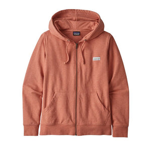 Patagonia Women's Pastel P-6 Label Ahnya Full-Zip Hoody - Mellow Melon