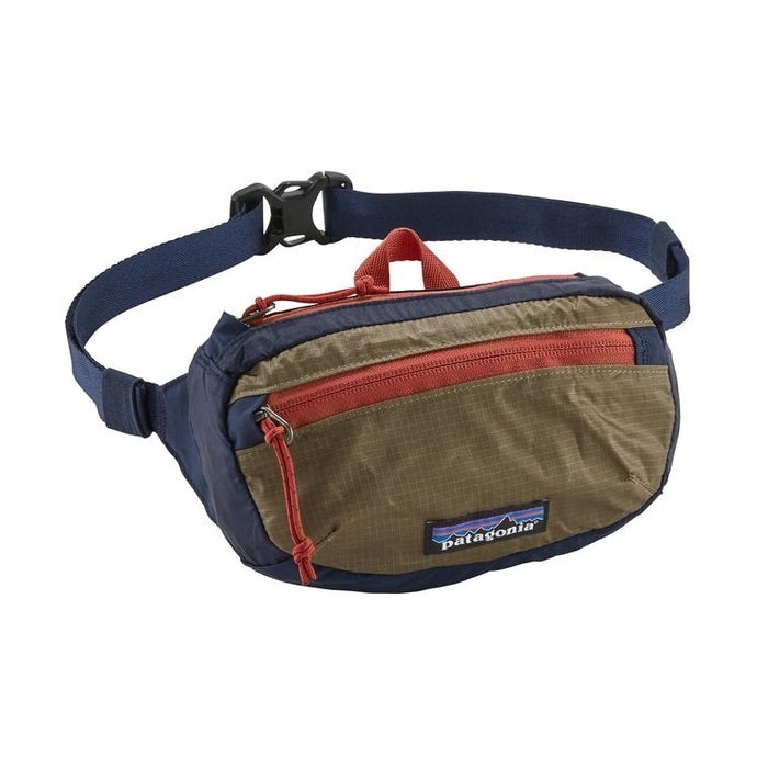 Patagonia Lightweight Travel Mini Hip Pack 1L - Classic Navy w/Mojave Khaki