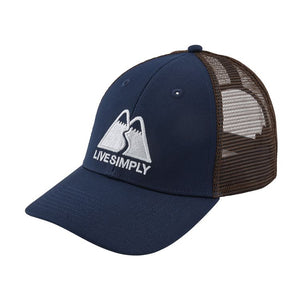 Patagonia Live Simply® Winding LoPro Trucker Hat - Classic Navy
