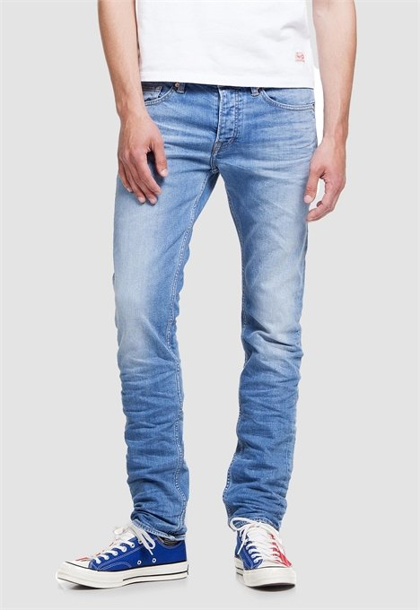 KINGS OF INDIGO CHARLES SLIM TAPERED, BLUE USED